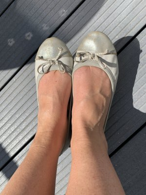Fritzi aus preußen Slingback Ballerinas silver-colored-light grey