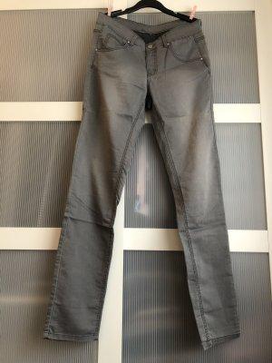 keine Marke Spodnie typu boyfriend Wielokolorowy