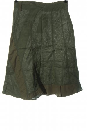 FRN by fransa Linen Skirt khaki casual look