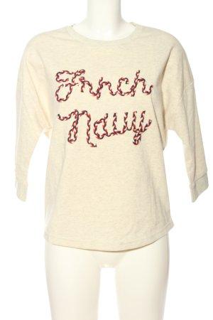 FRNCH Sweatshirt meliert Casual-Look