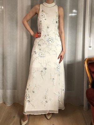 Frock and Frill Frock & Frill Kleid Dress verziertes Maxikleid Abendkleid mit Pailletten Hochzeitskleid Ballkleid NEU