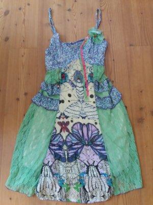 Sukienka boho Wielokolorowy