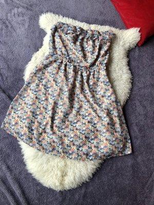 Only Sukienka z dekoltem typu bandeau Wielokolorowy