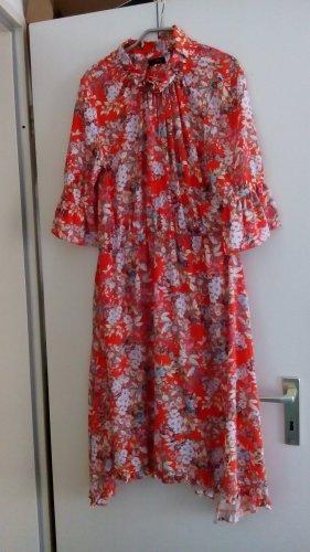 Cinque Flounce Dress orange polyester
