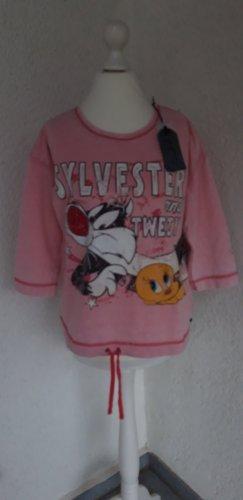 Frogbox Sweatshirt zalm-roze