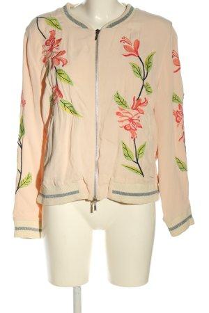 Frogbox Jacke mehrfarbig mit schöner Stickerei Casual-Look