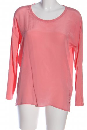 Frogbox Seidenbluse pink Casual-Look