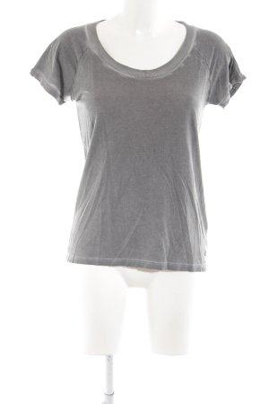 Frogbox T-Shirt hellgrau Casual-Look