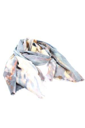 Front Row Gebreide sjaal abstract patroon casual uitstraling