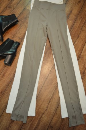 Nakd Pantalón de cintura alta gris