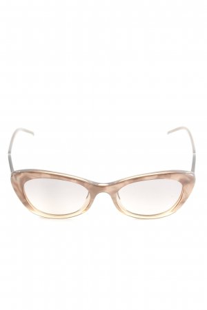 frost Butterfly Brille braun Casual-Look