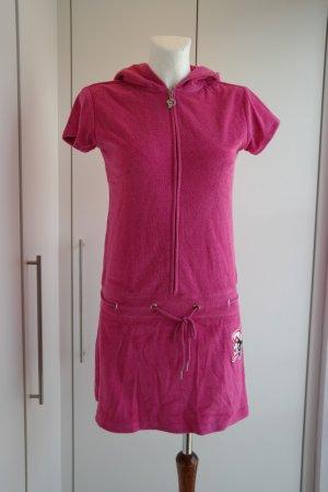 Pussy Deluxe Robe à capuche multicolore coton