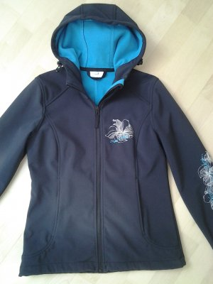 Maui Wowie Softshell Jacket blue-neon blue