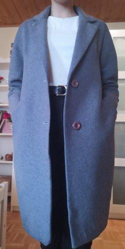 Gabardina tipo vestido gris Lana