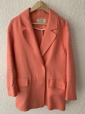 Frühling Mantel orange neuwertig