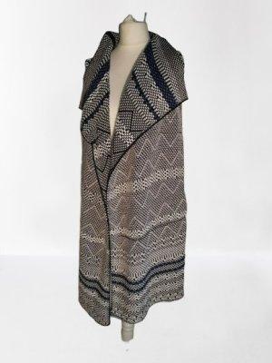Marc O'Polo Veste tricotée en grosses mailles blanc-noir