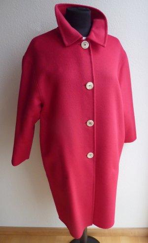 Gucci Manteau en laine magenta laine