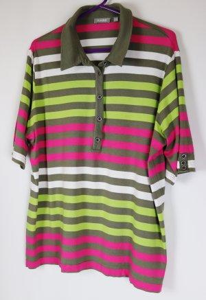 Rabe Polo shirt veelkleurig Gemengd weefsel