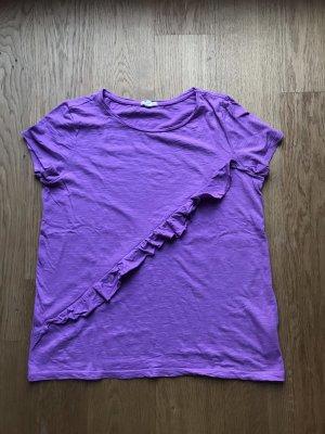 Frühlings T-shirt mit Rüschen von Esprit Gr M