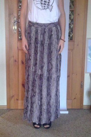 Alba Moda Maxi Skirt multicolored polyester