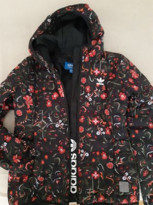 Adidas Overgangsjack zwart-rood