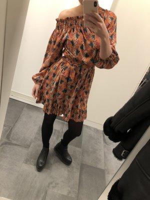 Sukienka na jedno ramię Wielokolorowy