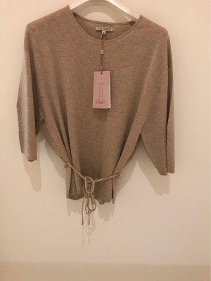 Interdee Paris Fashion Felpa kimono marrone-grigio