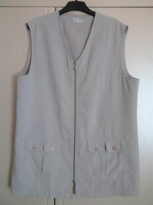Bonita Sports Vests light grey polyester