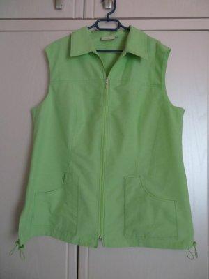 La Ligna Sports Vests lime-green cotton