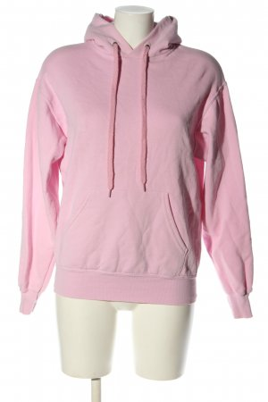 Fruit of the Loom Hooded Sweater pink casual look