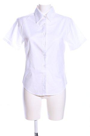 Fruit of the Loom Chemise à manches courtes blanc style d'affaires