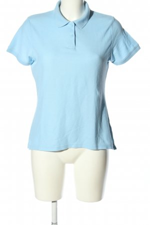 Fruit of the Loom Polo-Shirt blau Casual-Look