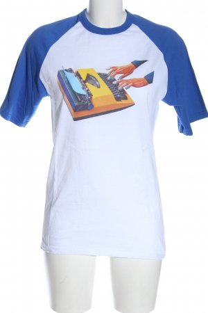 Fruit of the Loom T-Shirt Motivdruck Casual-Look