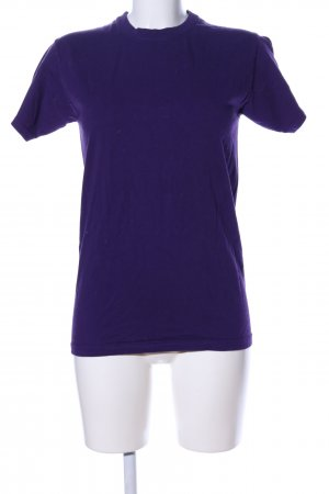 Fruit of the Loom T-Shirt lila Casual-Look