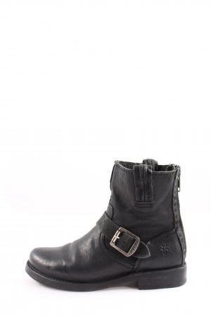 Frye Ankle Boots schwarz Casual-Look