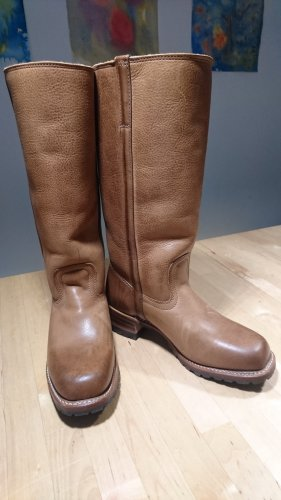 FRYE Campus Lammfell Stiefel #Boots