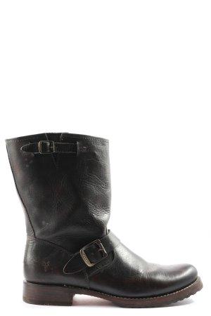 Frye Cothurne noir-brun gradient de couleur style décontracté