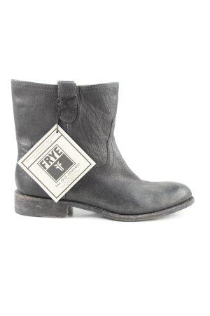 Frye Schlüpf-Stiefeletten schwarz Casual-Look