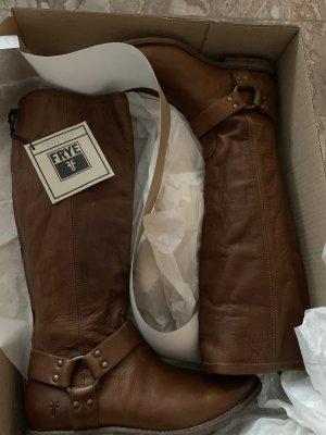 Frye Boots western cognac