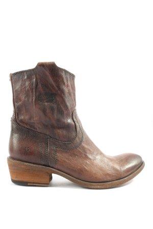 Frye Western Booties brown-black casual look
