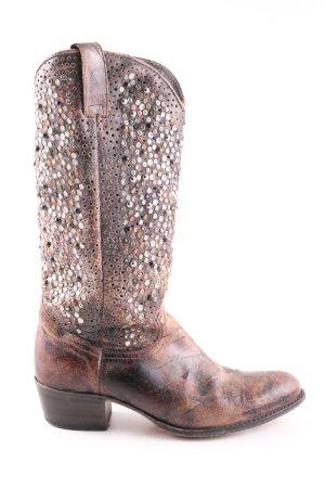 Frye Boots western brun style décontracté