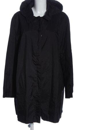 FS Manteau de pluie noir style décontracté