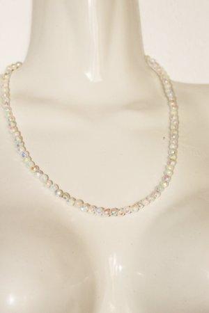 FS Secondhand Halskette eckige Perlen