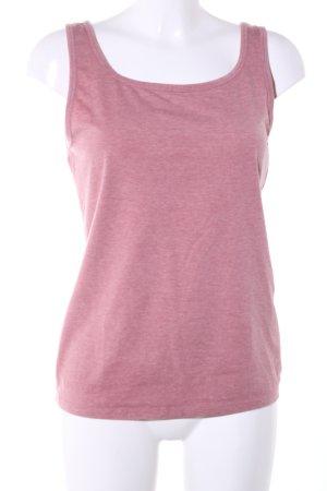 FSBN Basic Top pink meliert Casual-Look