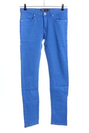 FSBN Hüfthose blau Casual-Look