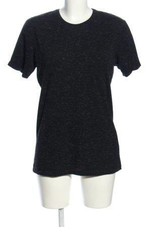 FSBN T-Shirt schwarz meliert Casual-Look