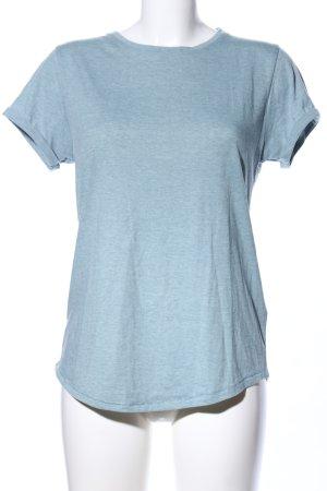 FSBN T-Shirt türkis meliert Casual-Look