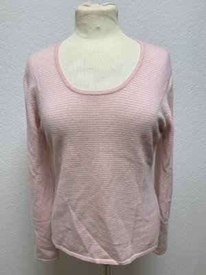 FTC Cashmere Cashmere Jumper light pink-cream