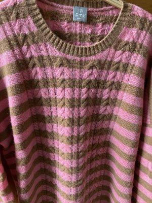 FTC Cashmere Pullover in cashmere multicolore