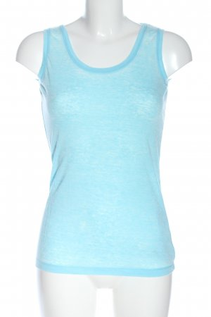 FTC Cashmere Basic Top blue casual look
